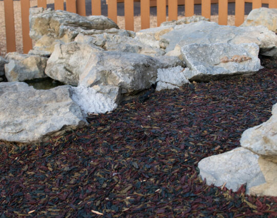 Miami Dade County Safety Surfacing-Bonded Rubber Mulch