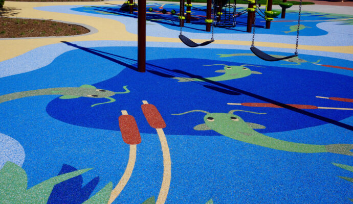 Miami Dade County Safety Surfacing-Poured-In-Place Rubber
